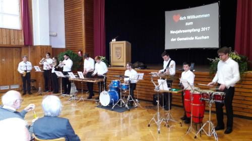 Musikverein Beatzeps Beim Neujahrsempfang Der Gemeinde Kuchen